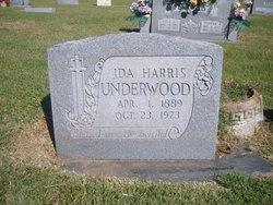 Ida <i>Harris</i> Underwood