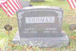 Hedwig Louise Hattie <i>Meisner</i> Thomas