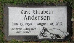 Gaye Elizabeth Anderson