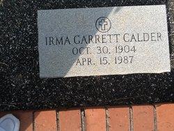 IRMA <i>GARRETT</i> CALDER