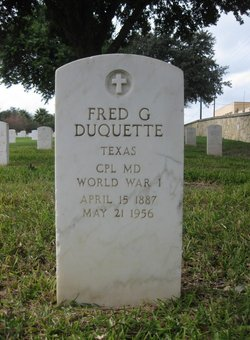 Fred G Duquette
