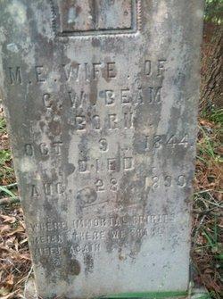 Mary Molly <i>Carruth</i> Beam