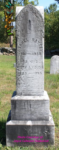 Mary A. <i>Young</i> Battey