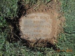 Hannah T. Bunting