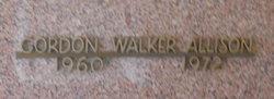 Gordon Walker Allison