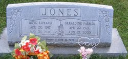 Boyd Edward Jones