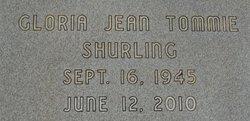 Gloria Jean <i>Tommie</i> Shurling