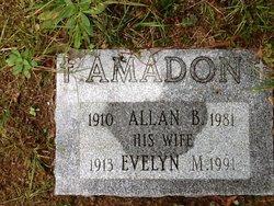 Evelyn M <i>Mathewson</i> Amadon