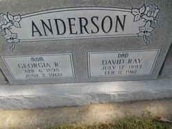 Georgia Roseman <i>Rice</i> Anderson