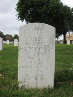 Robert Maxwell Hancock, Sr