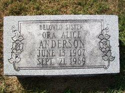 Ora Alice Anderson