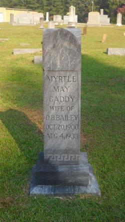 Myrtle May <i>Gaddy</i> Bailey