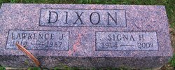 Signa L <i>Hopewell</i> Dixon