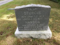 Mary Emily <i>Sturgis</i> Hanson