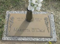 Marietta <i>Brummett</i> Dale