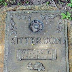 William R Sitterson