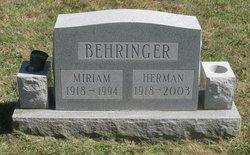 Herman Ernest Behringer