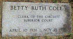Betty Ruth Cole