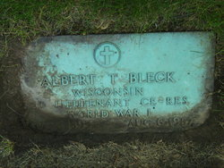 Albert T Bleck