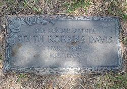 Edith <i>Robbins</i> Davis