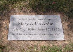 Mary Alice <i>Garner</i> Ardie