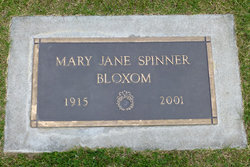 Mary Jane <i>Spinner</i> Bloxom