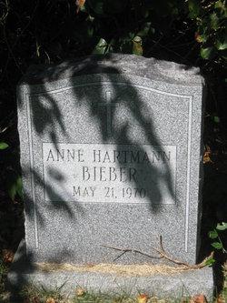 Anne <i>Hartmann</i> Bieber