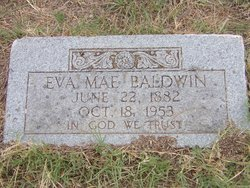 Eva Mae Baldwin