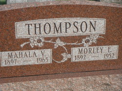 Mahala V. Thompson