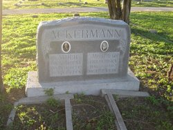 Friedericka <i>Rittimann</i> Ackermann