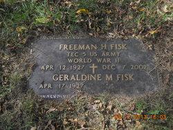 Freeman H Fisk