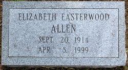 Elizabeth Harding <i>Easterwood</i> Allen