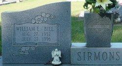 William E Bill Sirmons