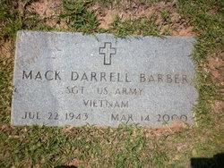 Mack Darrell Barber