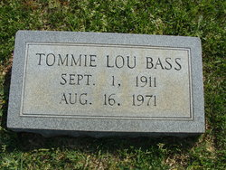 Tommie Lou <i>Kee</i> Bass