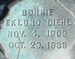 Bonnie <i>Eklund</i> Diehl