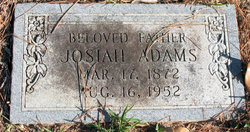 Josiah Adams, Sr