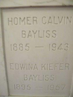 Edwina <i>Kiefer</i> Bayliss