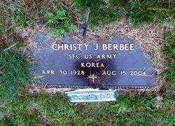 Christopher Joseph Christy Berbee