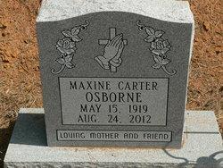 Ruth Maxine <i>Carter</i> Osborne