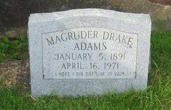 Magruder Drake Adams