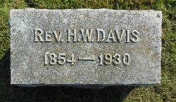 Rev Homer Wellington Davis