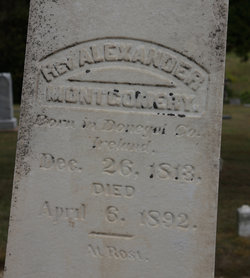 Rev Alexander Montgomery