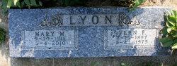 Mary M. <i>Clark</i> Lyon