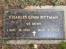 Charles Ginn C. G. Pittman