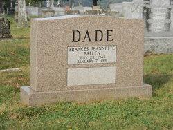 Frances Jeannette <i>Fallen</i> Dade