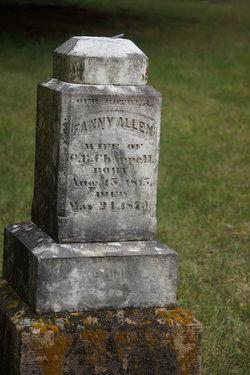 Fanny <i>Allen</i> Chappell