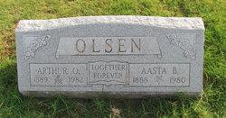 Arthur O Olsen