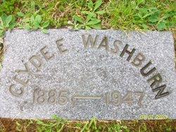 Clyde E Washburn