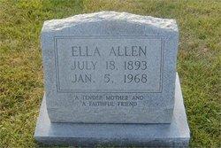 Zora Ella <i>Childers</i> Allen